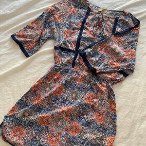 KACHEL Beach cover up / Silk Dress